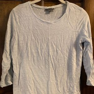 Vince 3/4 sleeve t-shirt Baby Blue sz M